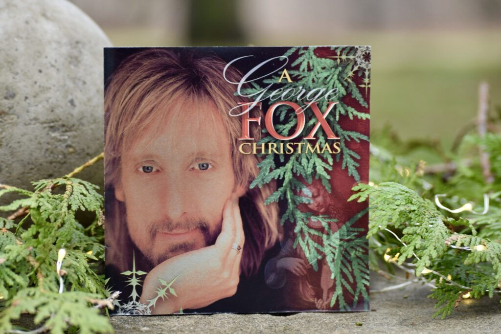 George Fox Christmas Album Cover